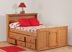 797 Full Captains Bed 7940 6 Drawer UBC