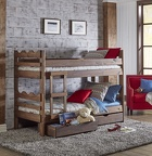 603 Twin / Twin Scallop Bunk Bed
