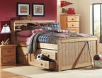 796 Twin Bookcase Captain's Bed 7939 Drawer Unit 7952 Nightstand / 7955 5-Drawer Chest 751 Mirror / 7956 6-Drawer Dresser